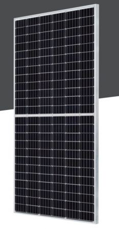 Panel fotowoltaiczny Austa Energy AU450-36- MH 450W, half-cut, srebrna rama/paleta 35szt | AU450-36-MH-35 Austa Energy