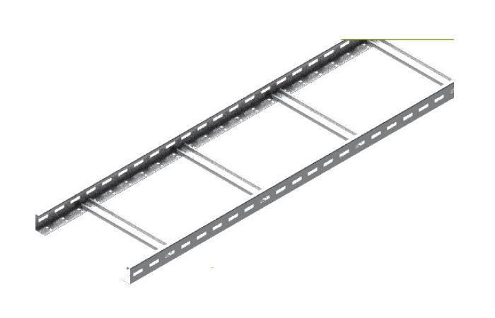 Drabinka DKD200H50/3N, gr.blachy 1,2 mm, długość 3m   455120 Baks