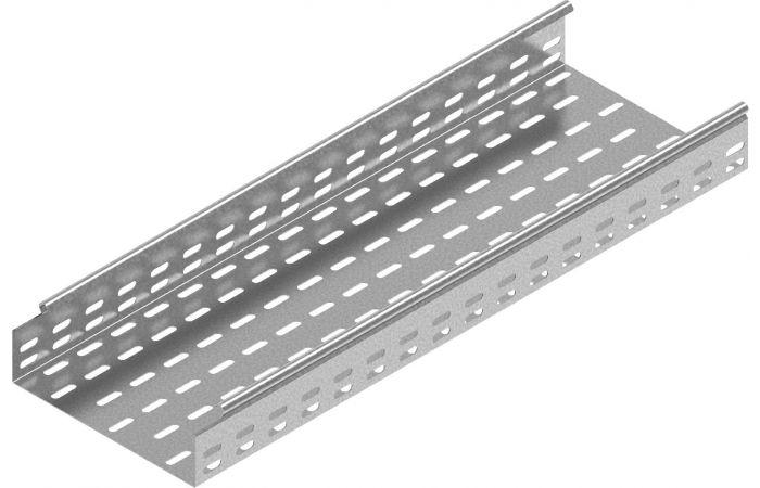 Korytko KCL/KCOL100H60/3, gr.blachy 0,7 mm, długość 3m   160810 Baks
