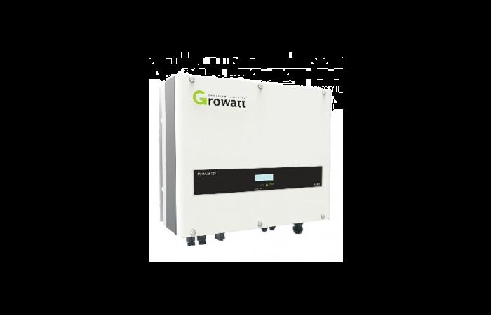 Inwerter Growatt 4000TL3-S max. moc modułów PV 4800W wyjście AC: 4000W trójfazowy 2 MPPT   4000TL3-S Growatt