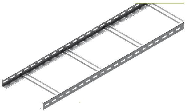 Drabinka DKD200H50/3N, gr.blachy 1,2 mm (3m) | 455120 Baks