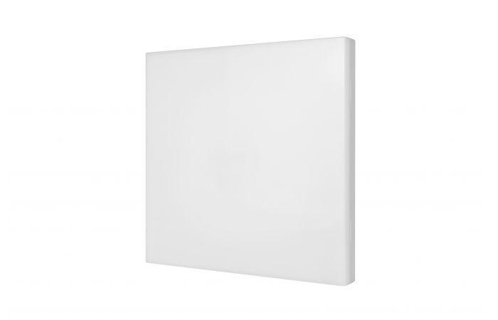Plafoniera EDGE S 4000K 12W /1W 1h sieciowo-awaryjna PT, biała | EDSE12/1W/E/1/SE/PT/WH/4000 Awex