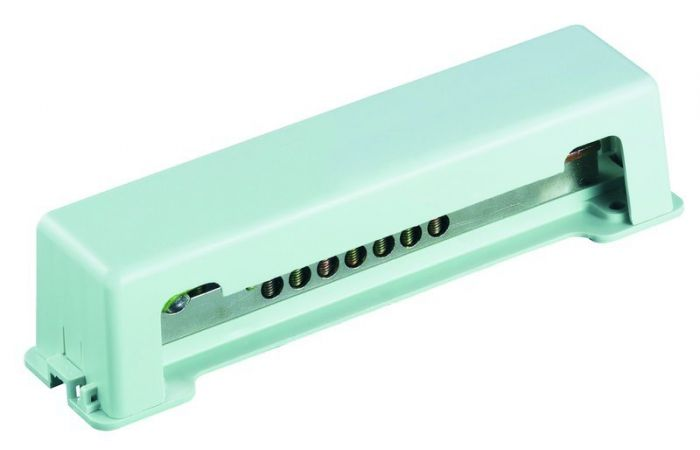 Szyna wyrównująca potencjał PPAS 100kA 188x44,5x52mm | 05100226 050423 Protec.class