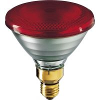 Lampa podczerwieni IR PAR38 IR 100W E27 230V Red 1CT/12 | 923801144209 Philips