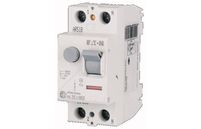 Wyłącznik różnicowoprądowy 2-bieg. HNC 40A 30mA A, HNC-40/2/003-A   194685 Eaton