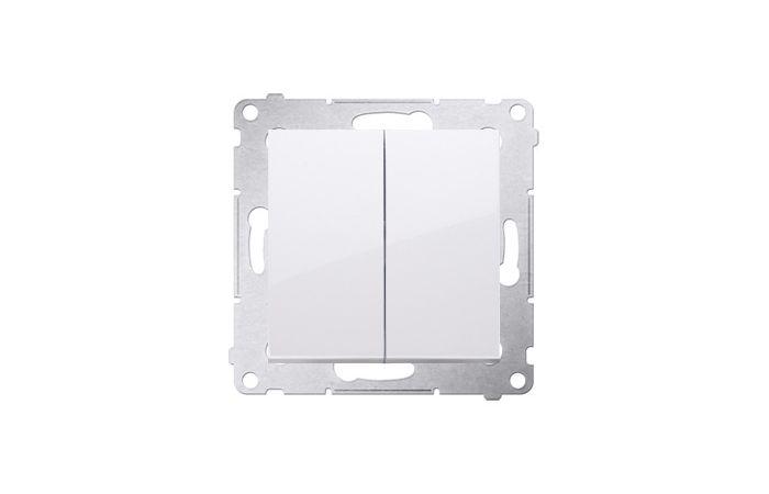 Łącznik świecznikowy (moduł) 10AX, 250V, szybkozłącza, biały Simon 54 | DW5.01/11 Kontakt Simon