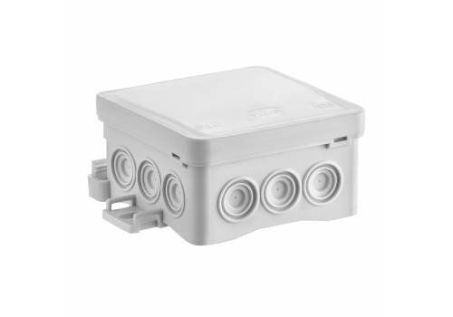 Puszka instalacyjna n/t z możliwością zastosowania haka HNS, FASTBOX&HOOK, 75x75x40 NS5 szara | 35360102 Simet